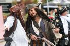 Pirates, young and old, gather on Poole Quay for Harry Paye Day