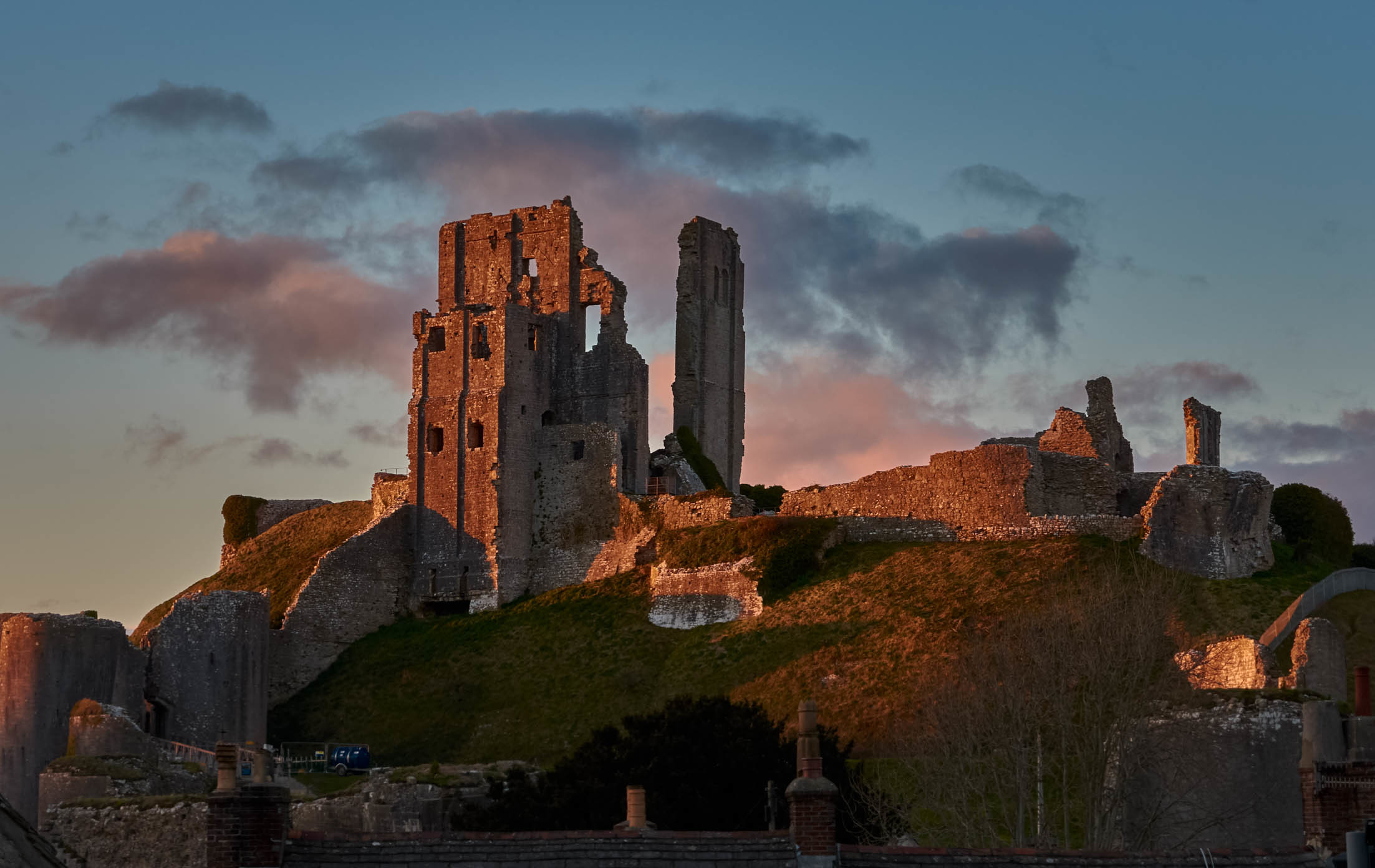 Watch films under the stars at Corfe Castle this summer