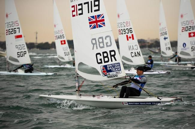 TALENT: Swanage sailor Sam Whaley (Picture: Sailing Energy/World Sailing)