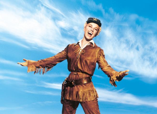 Doris Day stars as Calamity Jane. Images courtesy of Park Circus/Warner Brothers