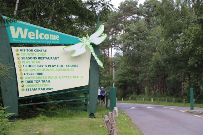 Moors Valley Country Park & Forest..