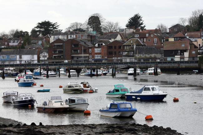 Teenage boys were arrested after robberies in Lymington