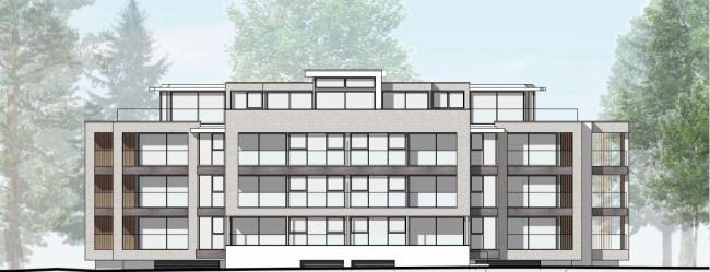 PLANS: A CGI of the revised building proposed to replace Wilderton House