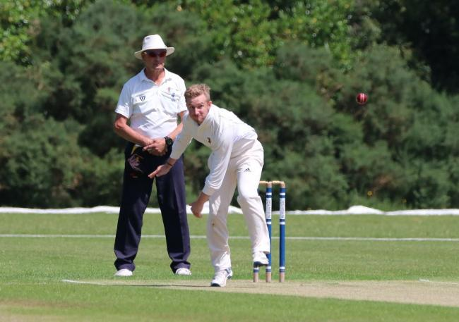 TWO WICKETS: Dorset's Simon Woodruff (Picture: James Robinson)