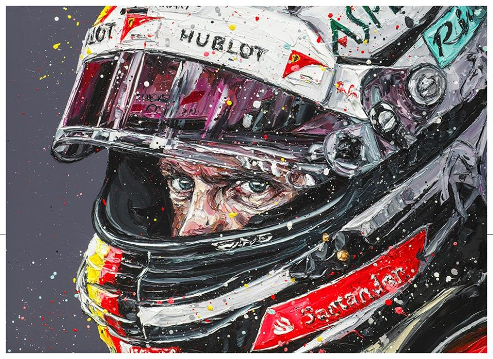 Meet official F1 artist Paul Oz