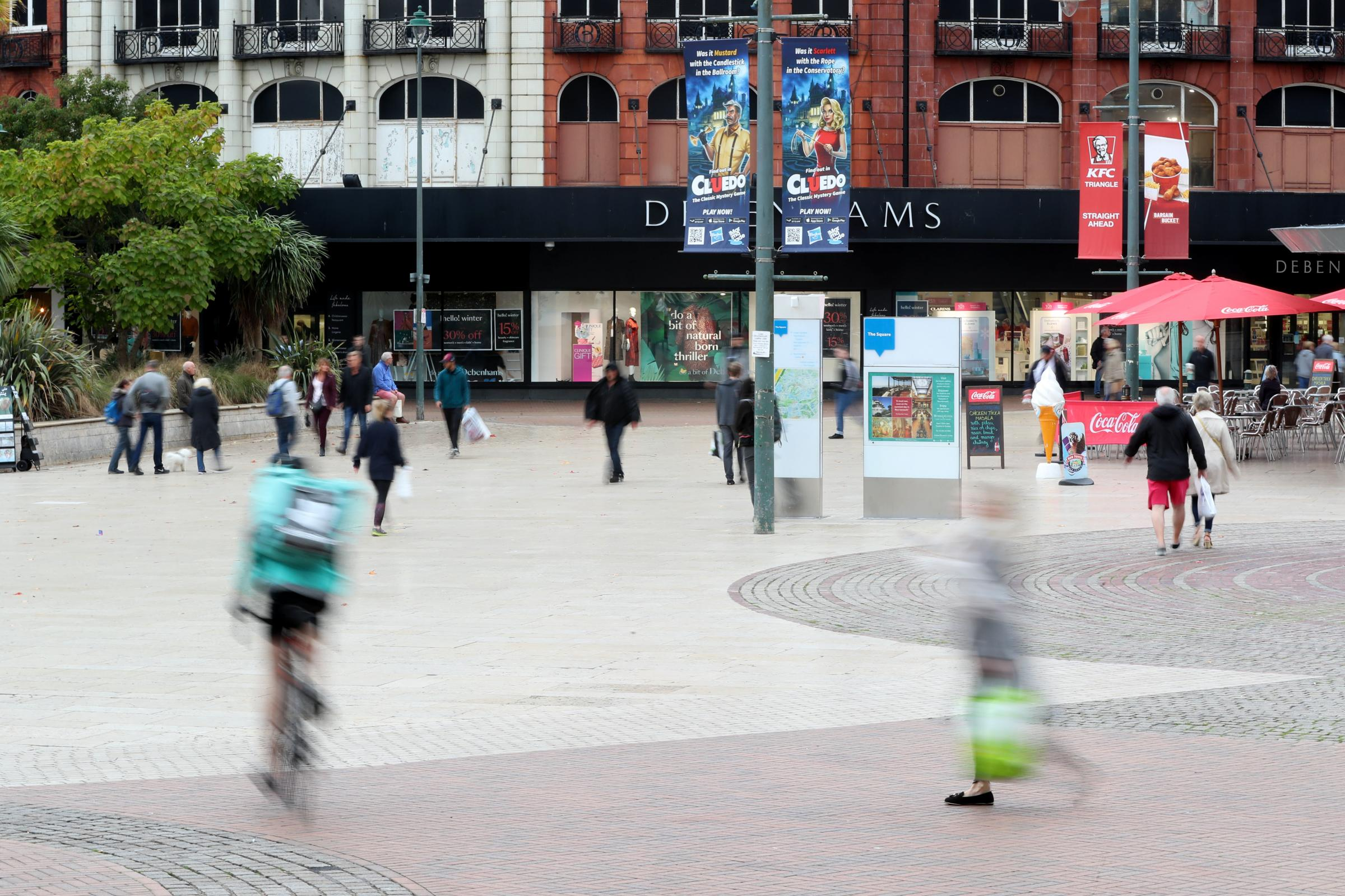 'Aggressive' man is ordered to leave the Square after 'alcohol-fuelled' trouble