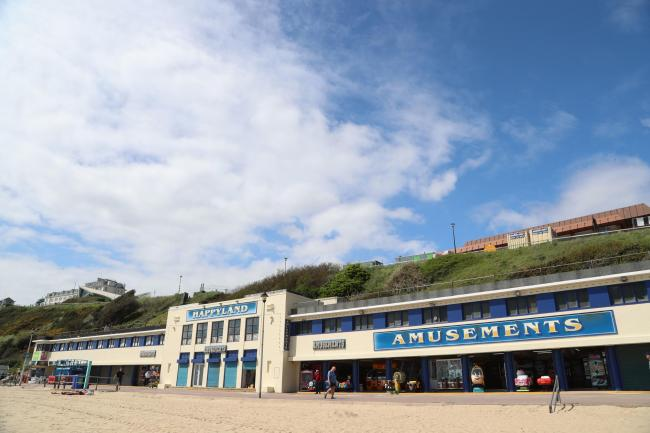The Happyland Amusement arcade on Bournemouth seafront. ..