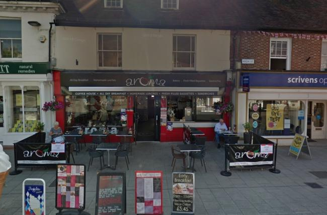 Cafe Aroma in Wimborne. Picture: Google Streetview