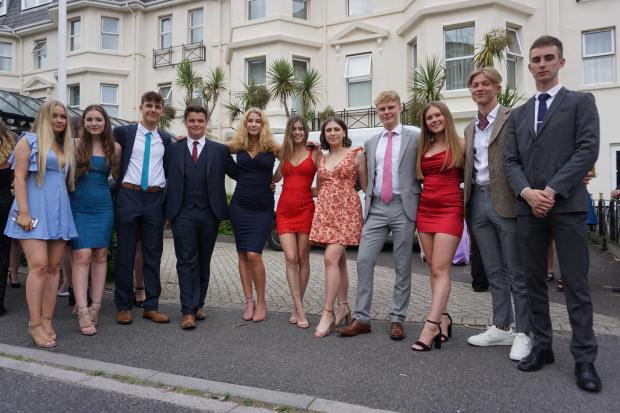 PICTURES: Parkstone and Poole Grammar Schools' Year 13 prom