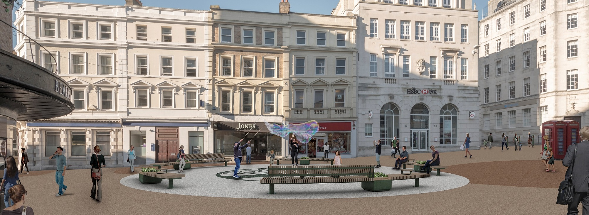 Makeover of Beale Place in Bournemouth is complete