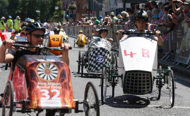SPEEDSTER: The Pedal Car Grand Prix returns to New Milton this weekend