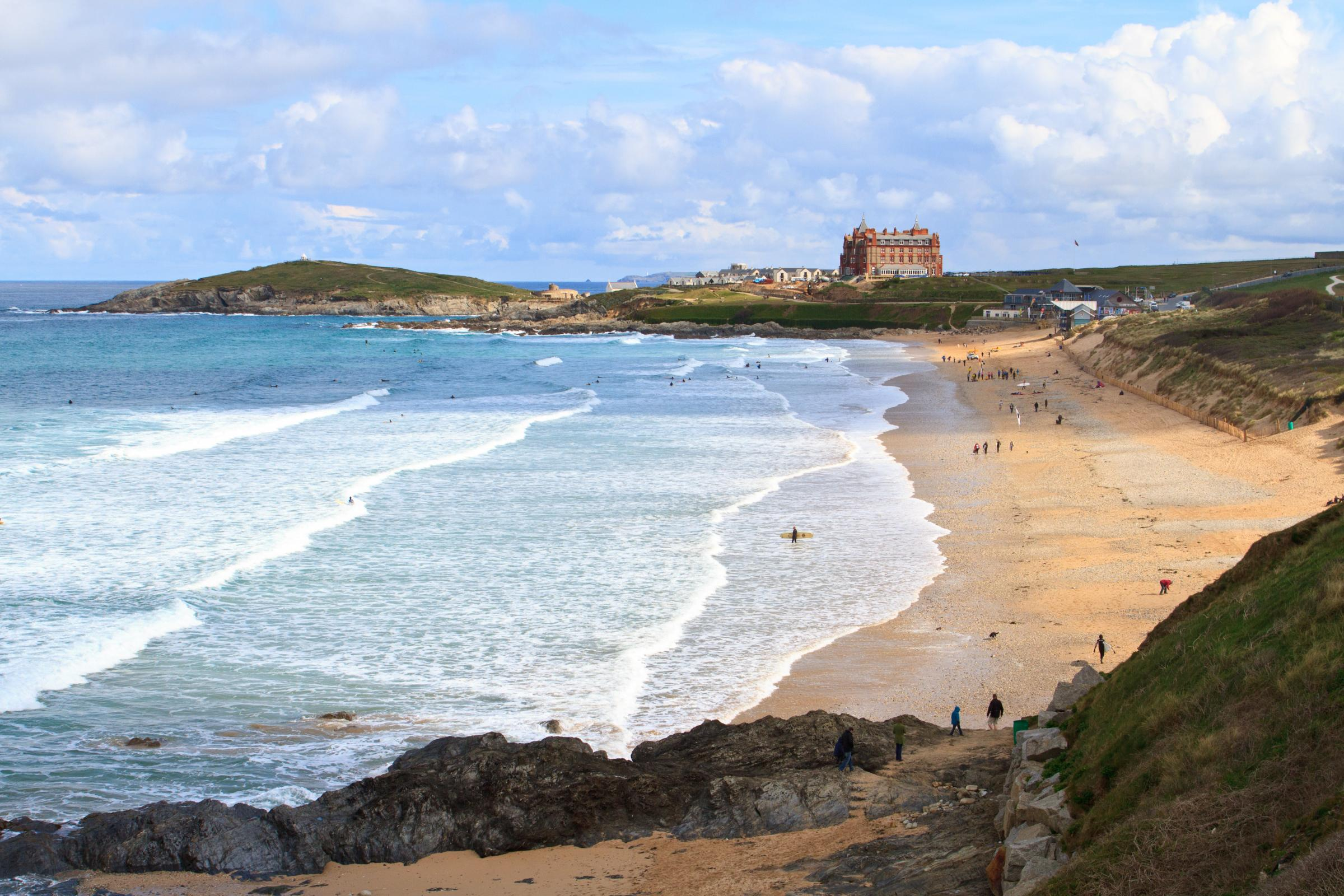 Travel: Surf, sand and giant burgers on a family holiday in Newquay