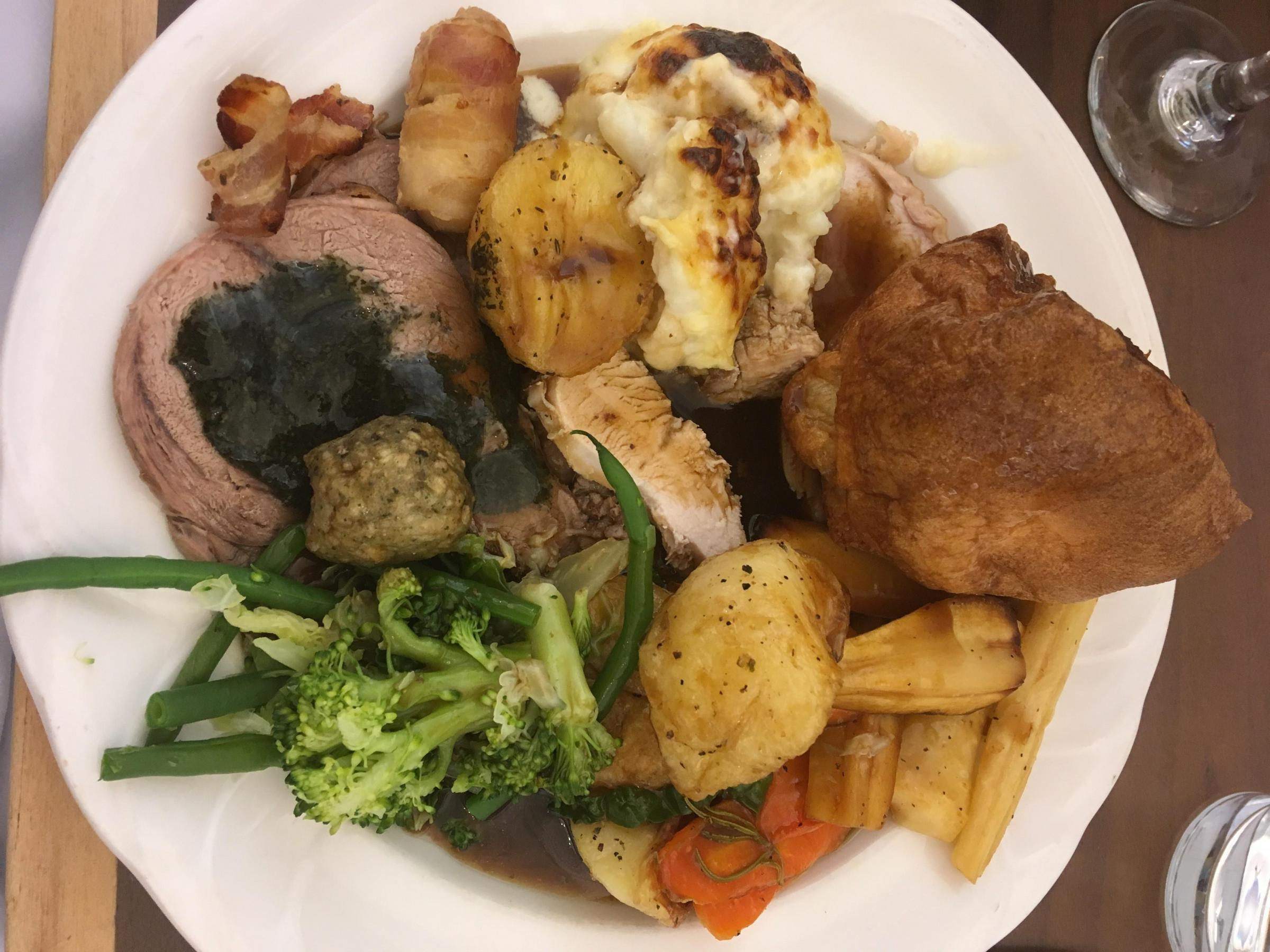 The Norfolk Royale Sunday roast tried and tested