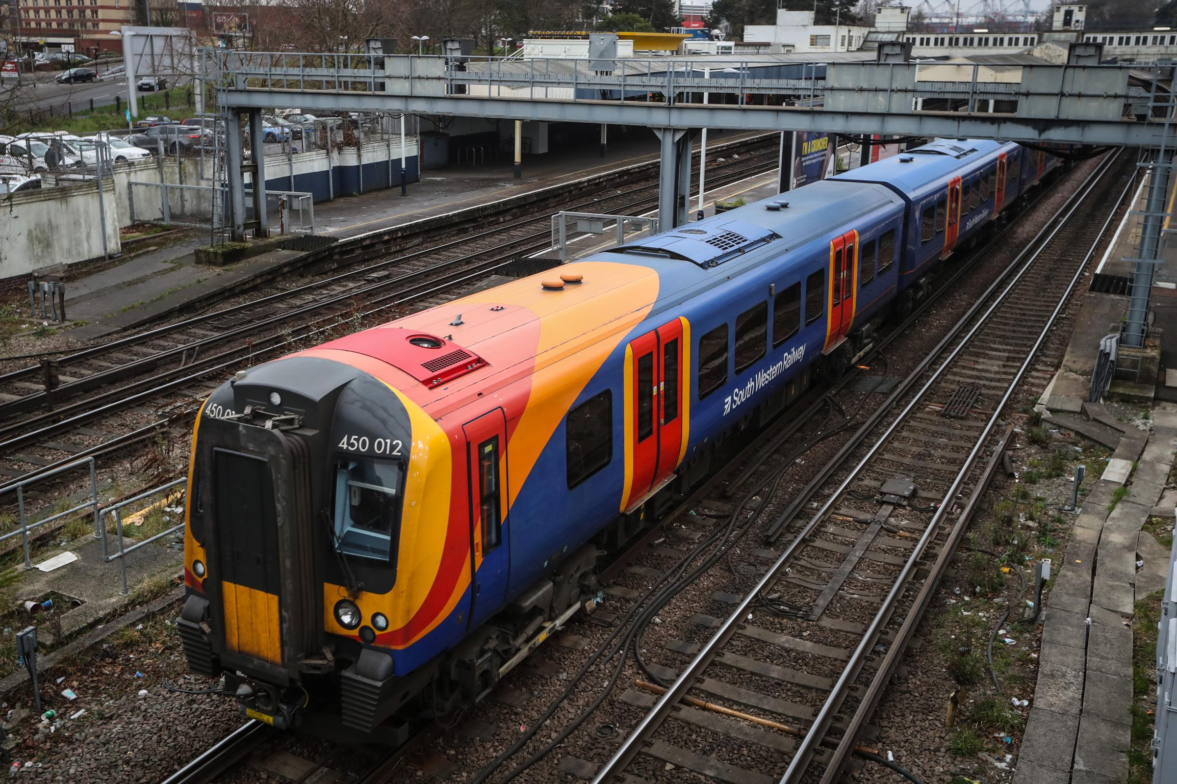 Person dies after being hit by a train between Brockenhurst and Southampton Central