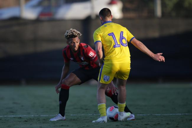 INJURY ISSUE: Lloyd Kelly (Picture: Robin Jones/AFC Bournemouth)