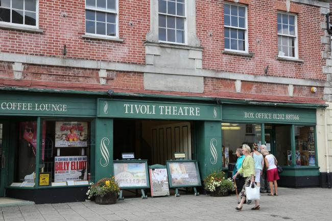 The Tivoli Theatre in Wimborne