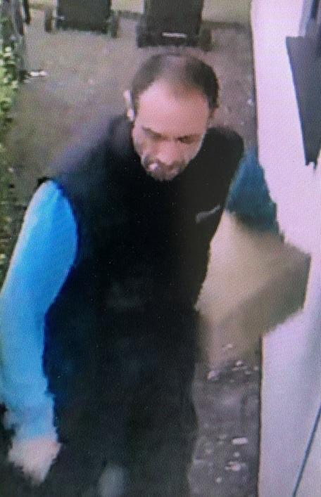 Police want to identify the man in the CCTV image after a burglary in Christchurch