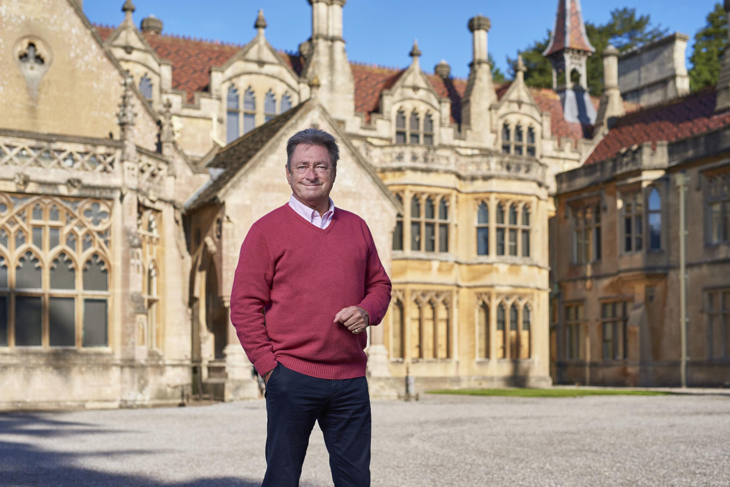 Alan Titchmarsh on the new series of Secrets Of The National Trust