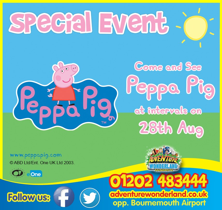 Come And Meet Paw Peppa Pig On 28 August At 10 00