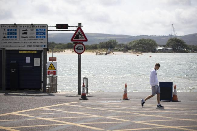 The Sandbanks ferry is expected to be gone until October