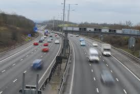 The M25 in Epping. Image: Google