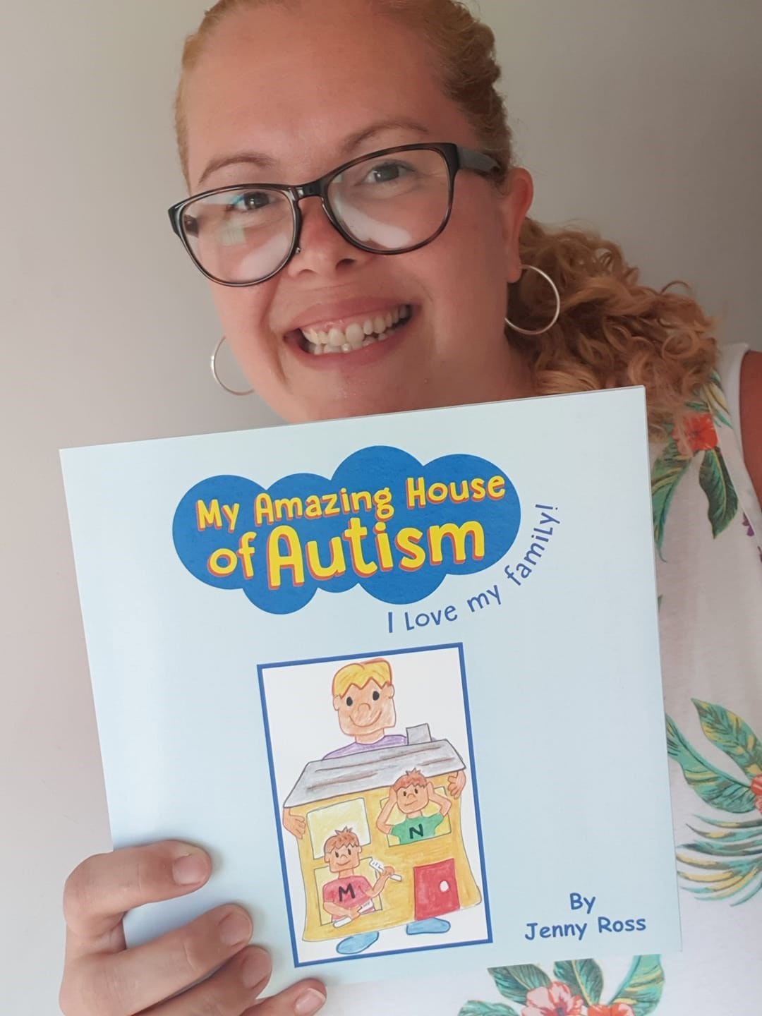 Mum's children's book about autism to launch at school next month