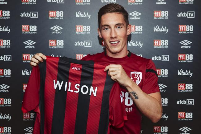 WING WIZARD: Cherries have signed Harry Wilson on loan from Liverpool (Picture: AFC Bournemouth)