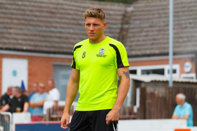 NEW RECRUIT: Wimborne's Kieran Roberts (Picture: WTFC)