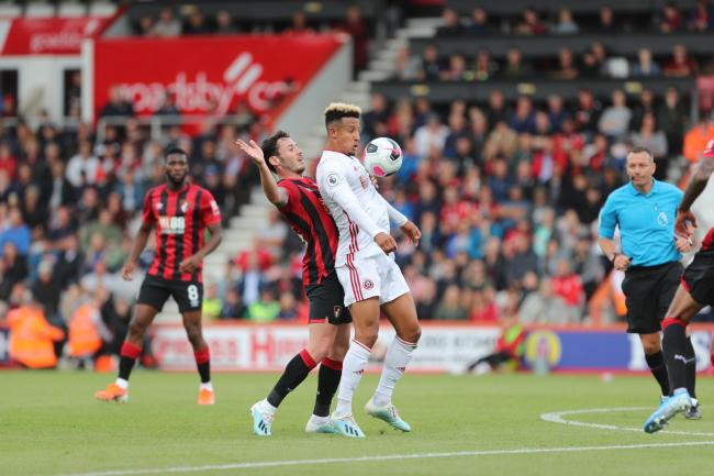 HONOURS EVEN: Cherries were held to a 1-1 draw by Sheffield United