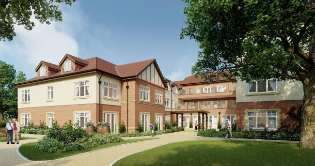 New Oakdale residential home in Poole