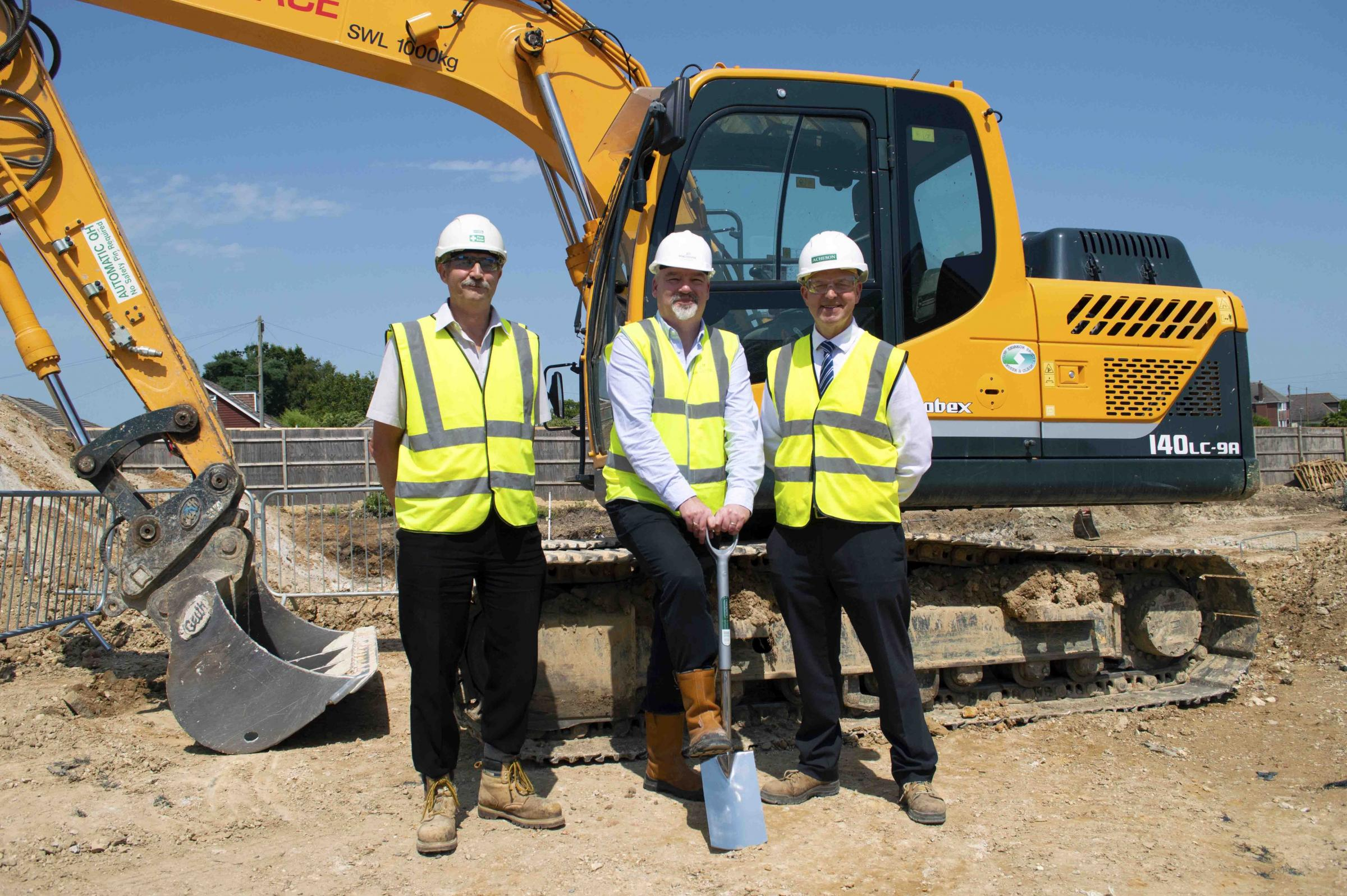 Work begins on Hamworthy's new 68-bed care home
