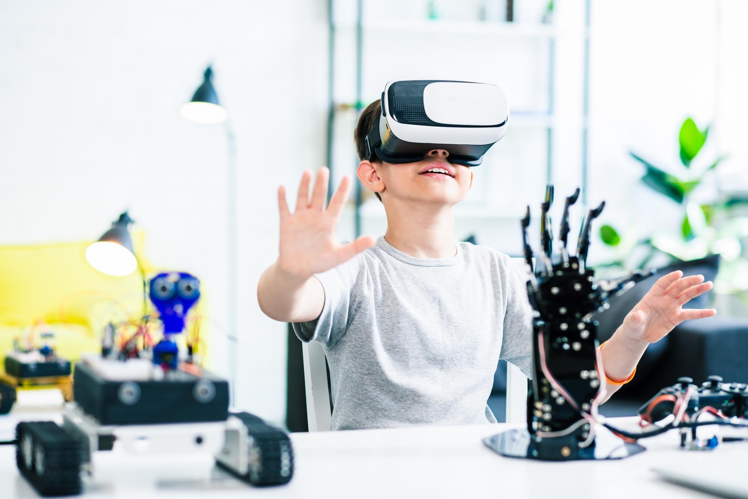 Lilliput pupils learn through virtual reality