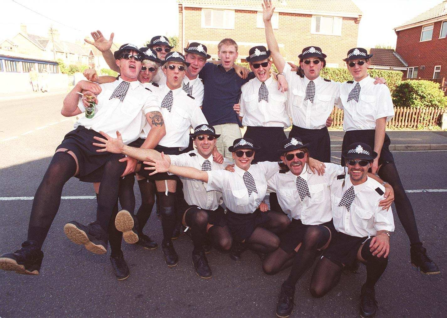 Pictures from Milford on Sea Carnival in 1999
