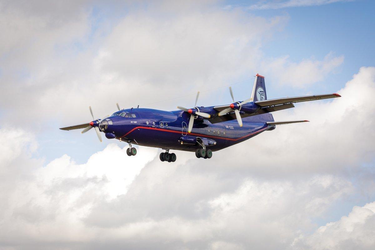 Bournemouth Airport enjoys rare visit from an Antonov An-12