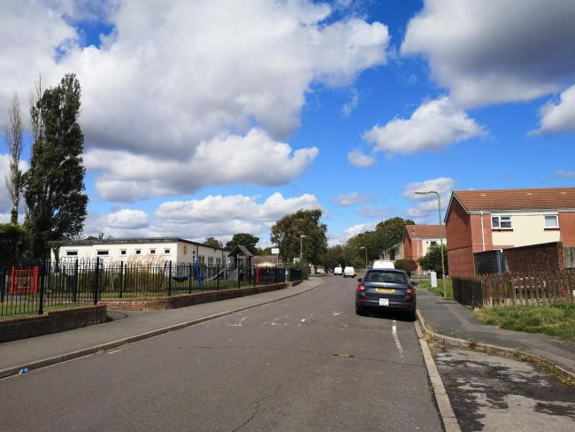 Man suffers head injury and cuts to his leg after attack at New Milton housing estate