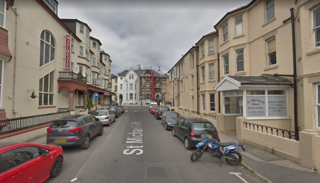 St Michael's Road in Bournemouth. Image: Google