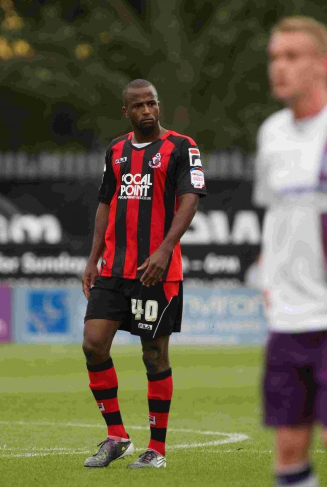 FORMER CHERRY: Stephane Zubar is partnering young defender Sam Sherring in Weymouth's defence (Picture: Richard Crease)