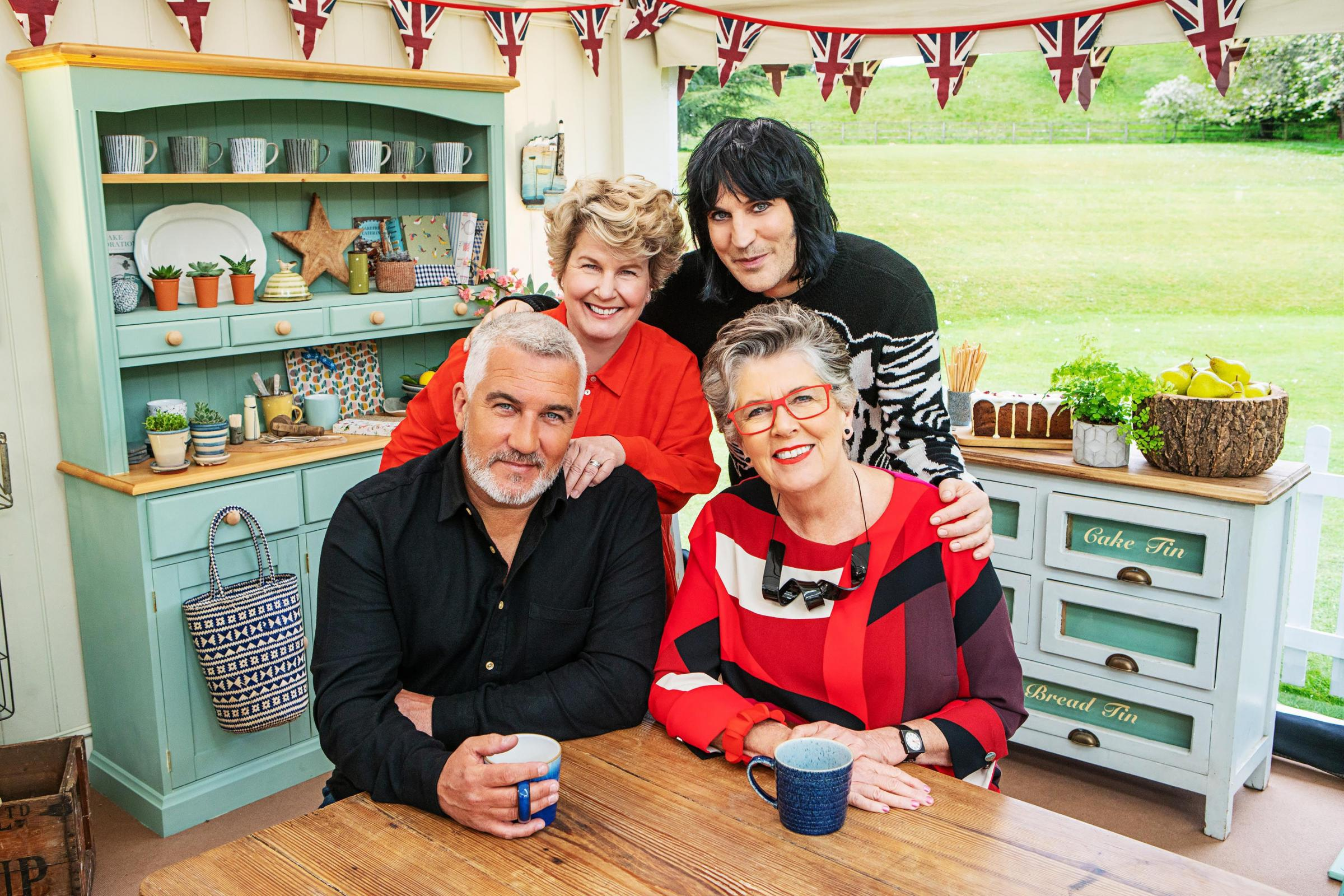 Bake Off judges Paul Hollywood and Prue Leith on the show's celebrity fans and inspiring bakers