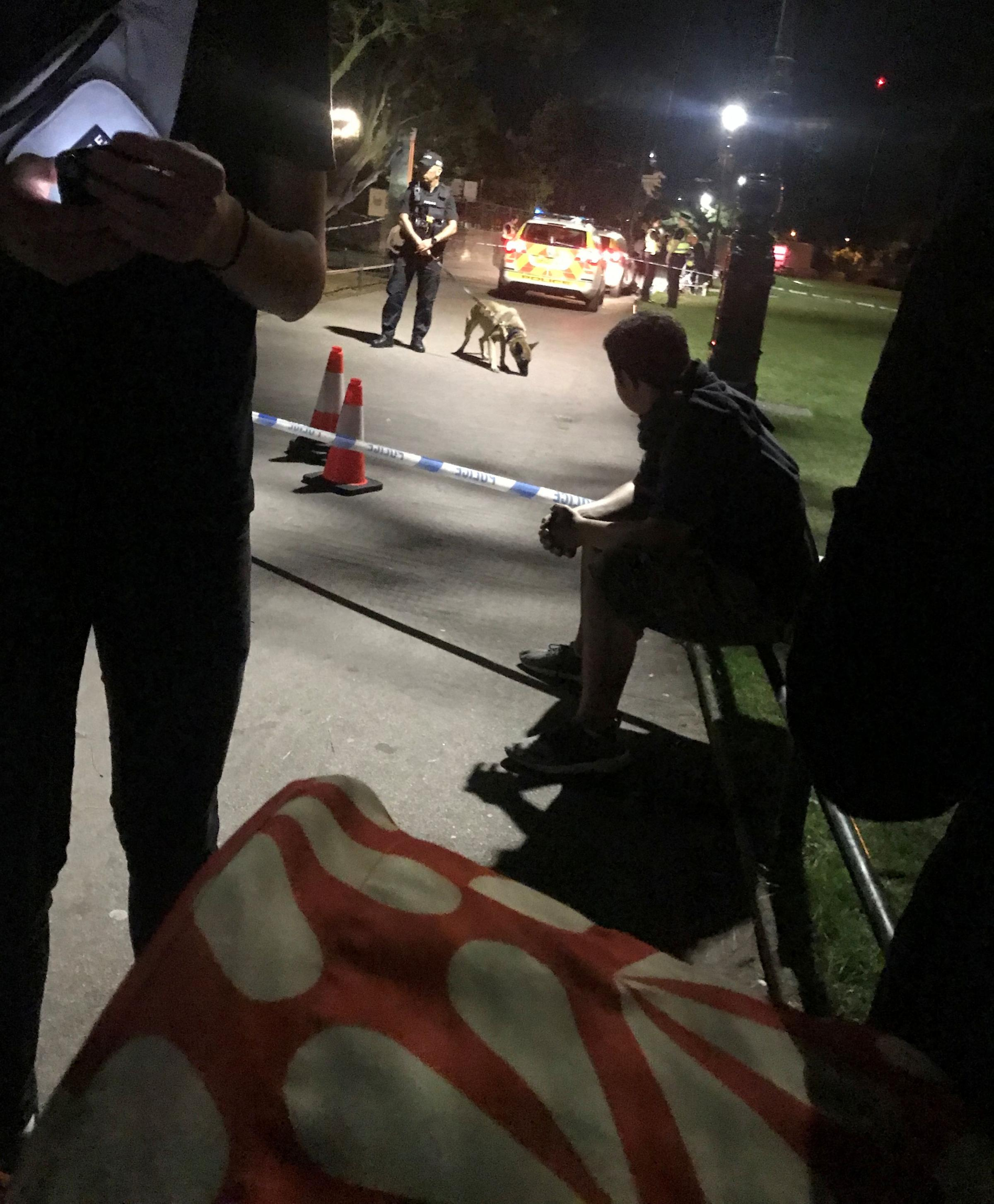 Police called to 'stabbing' in Lower Gardens after fireworks