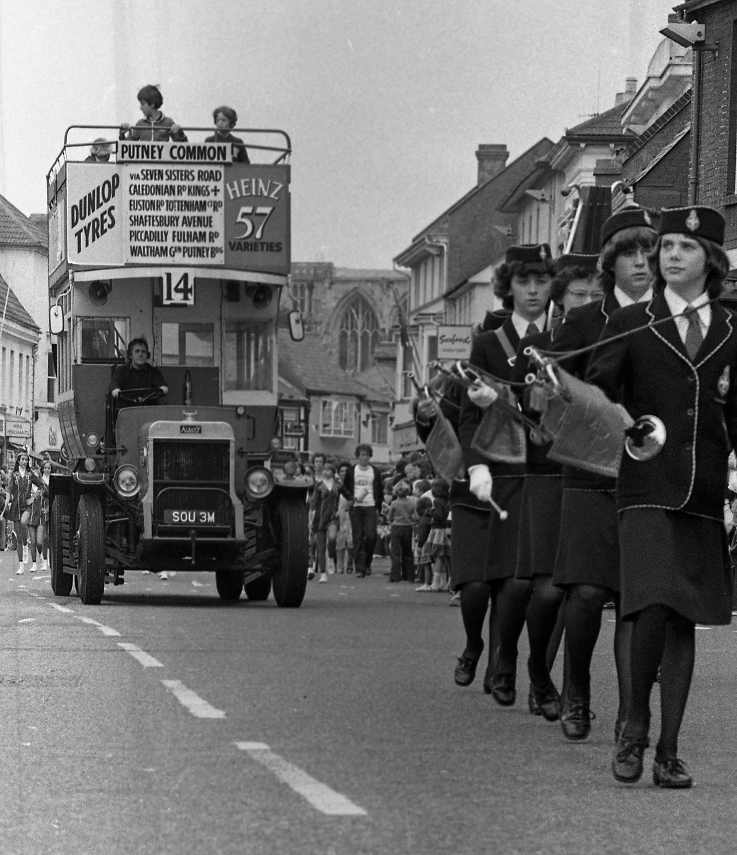 PICTURES: Christchurch Carnival and Regatta in 1979