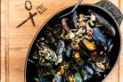 Normandy-style Mussels
