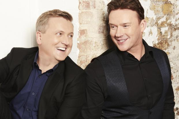 Aled Jones and Russell Watson will be performing together for the first time at Bournemouth Pavilion