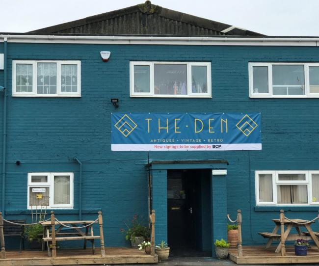 Permanent planning permission is sought for The Den