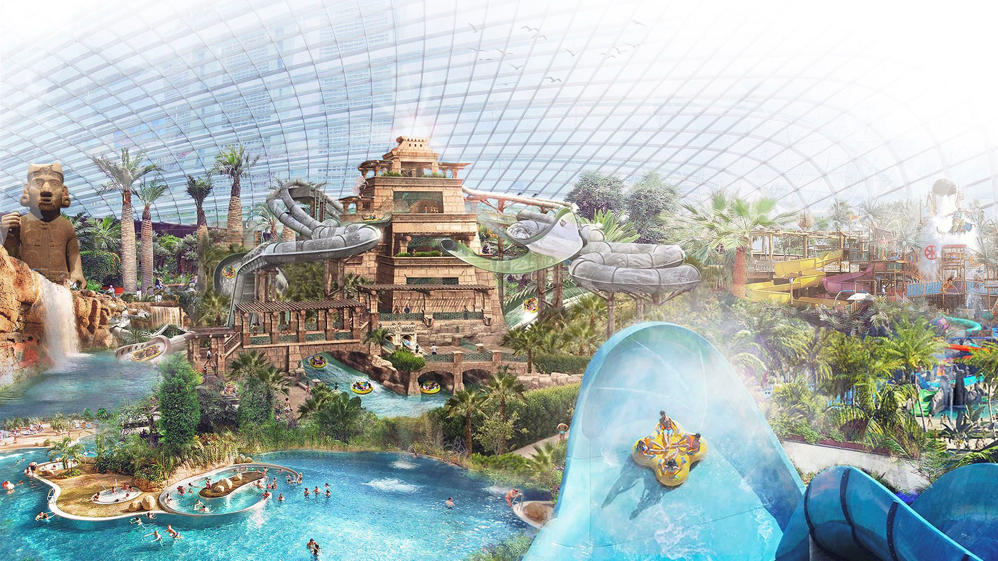 Water park planned near Bournemouth Airport
