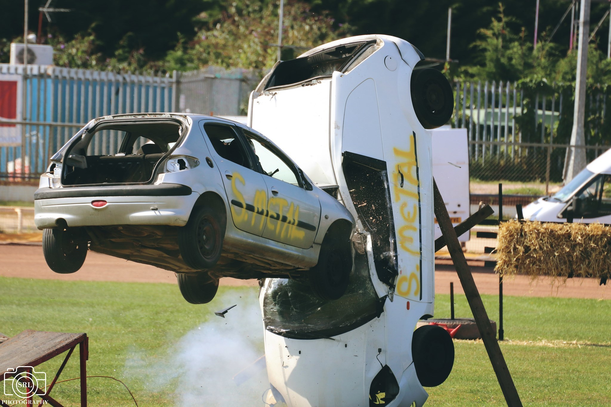 Daredevil dazzles the crowds with stunt show at Poole Stadium