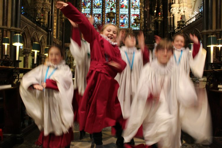 Be a chorister for the day!