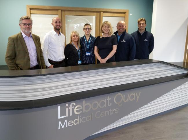Lifeboat Quay Medical Centre opening