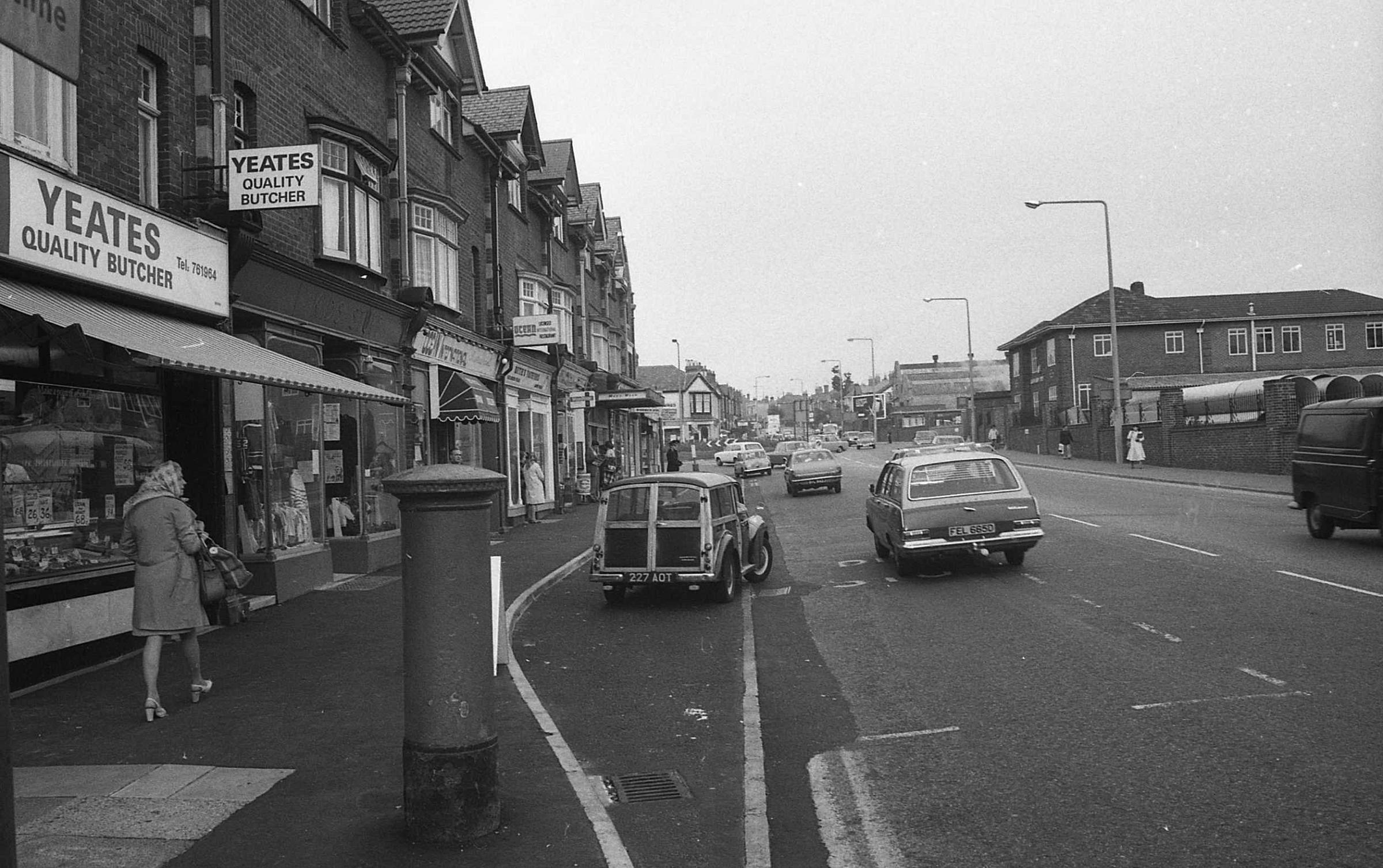 Picture of the Day: A view of Poole Road from forty years ago