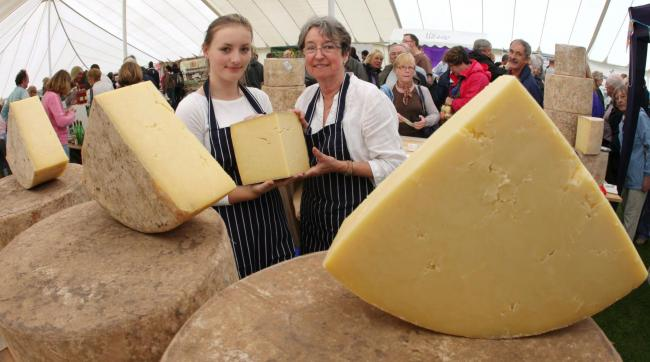 The Sturminster Newton Cheese Festival celebrates its 20th anniversary