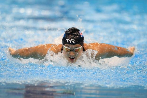 Great Britain's Alice Tai competes in the Women's 200m Individual Medley SM8 Heats during day six of the World Para Swimming Allianz Championships at The London Aquatic Centre, London. PA Photo. Picture date: Saturday September 14, 2019. See PA s